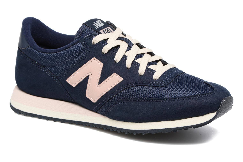 Sneakers New Balance CW620 Blå detaljeret billede af skoene