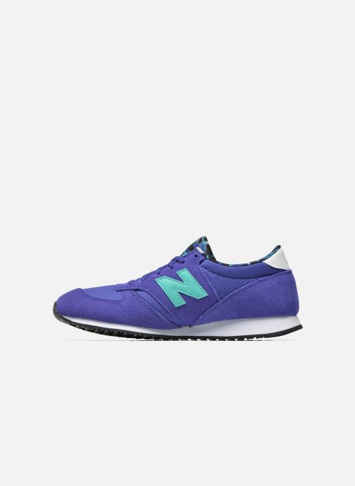 Trainers New Balance WL420 Blue front view