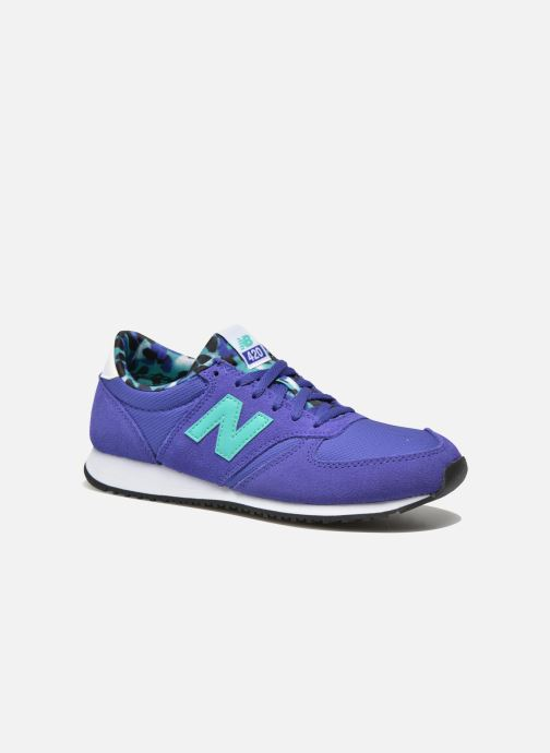 Trainers New Balance WL420 Blue detailed view/ Pair view