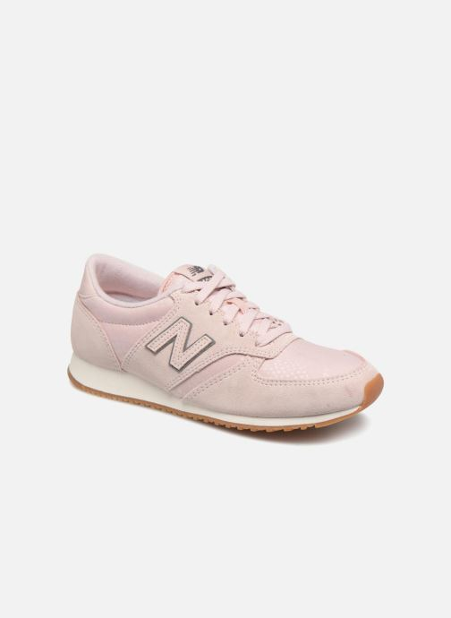 Baskets New Balance WL420 Rose vue détail/paire