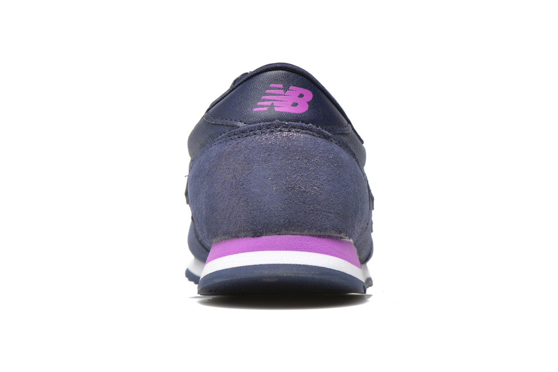 Baskets New Balance WL420 Violet vue droite