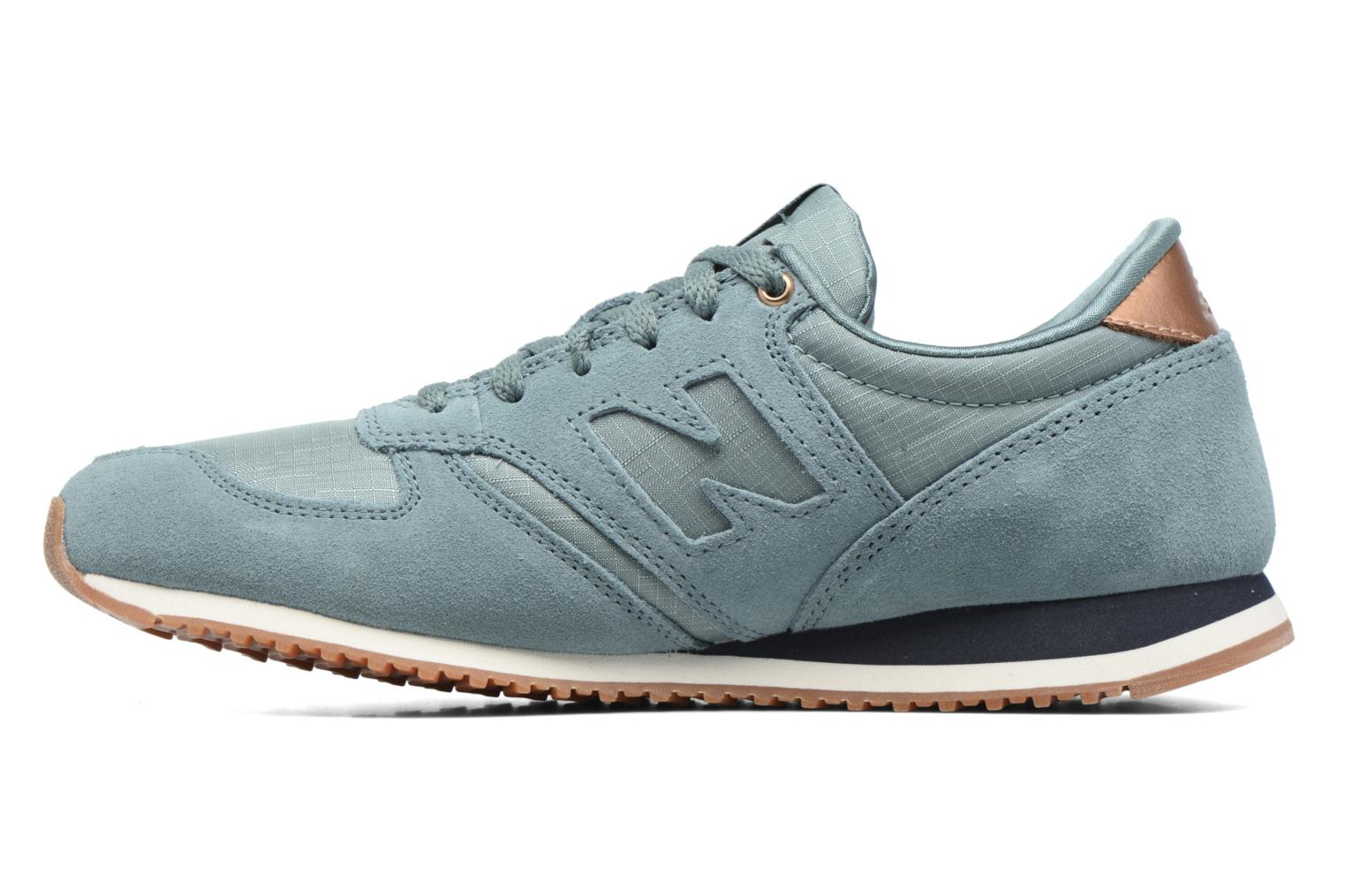 Baskets New Balance WL420 Bleu vue face
