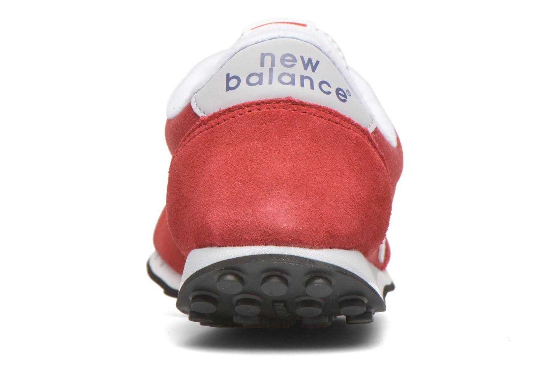 Baskets New Balance WL410 Rouge vue droite