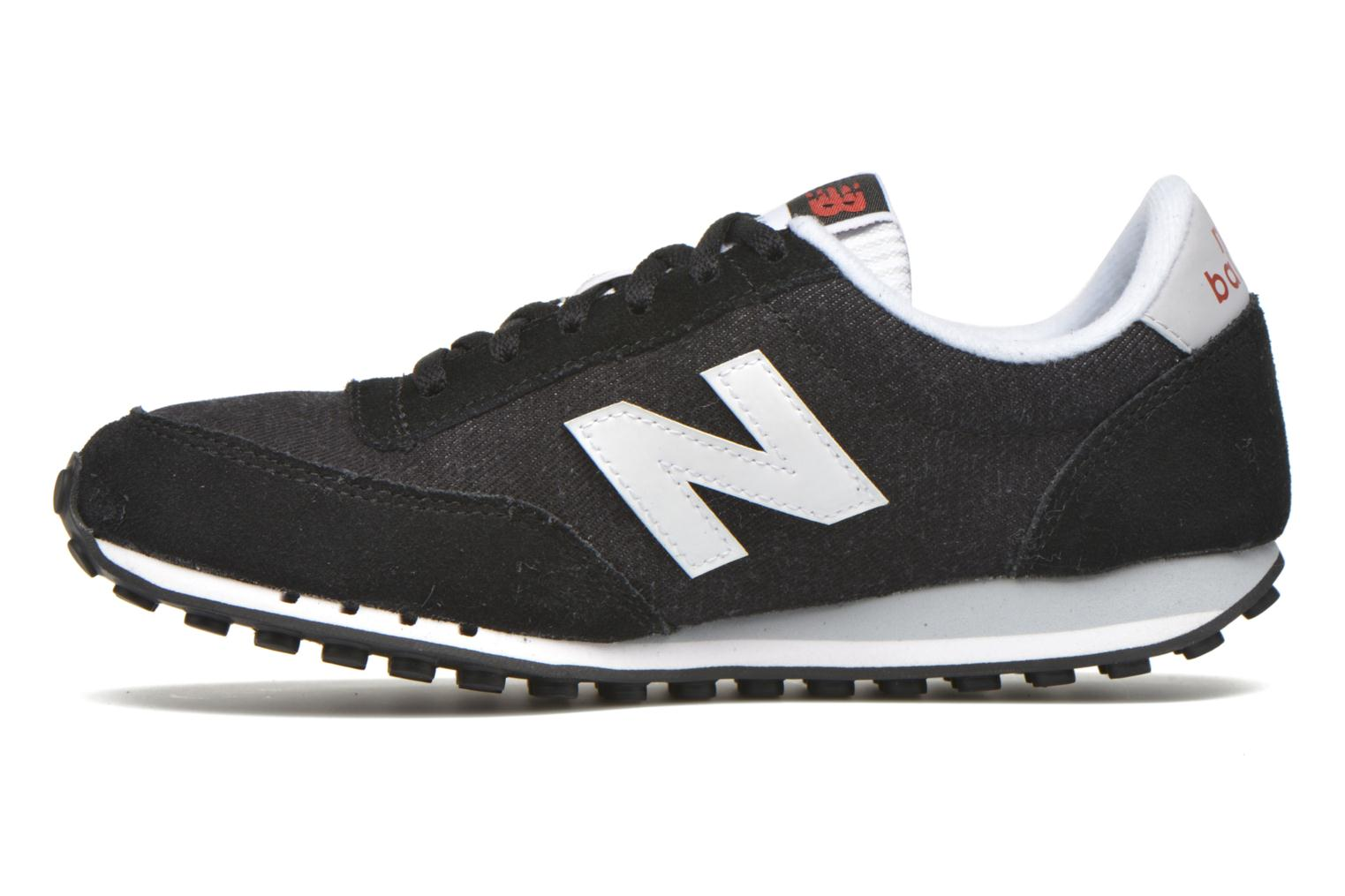 Baskets New Balance WL410 Noir vue face