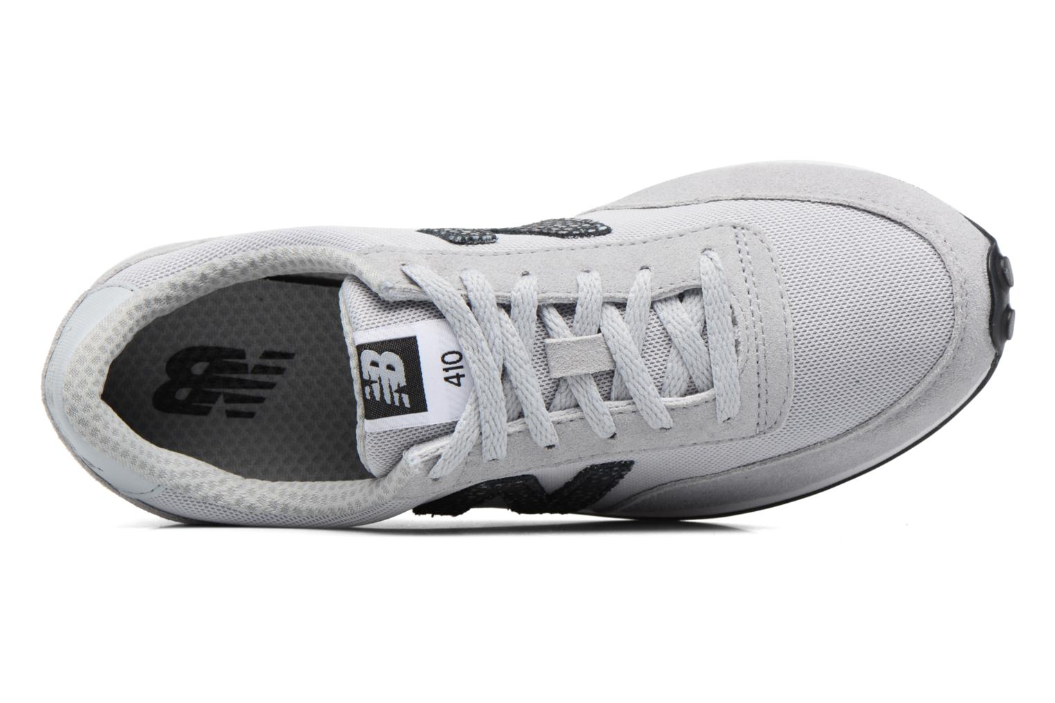 Baskets New Balance WL410 Gris vue gauche