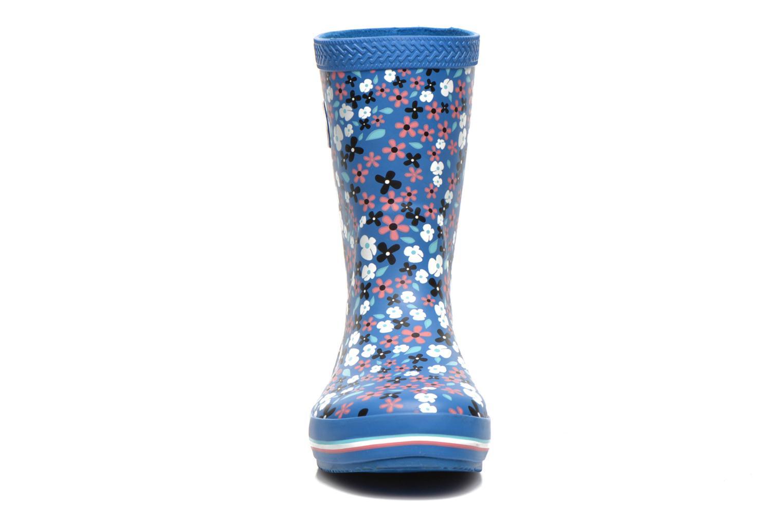 Stiefel Havaianas Aqua Kids Flores blau schuhe getragen