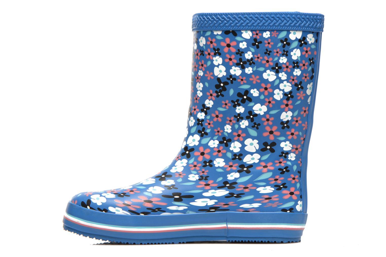 Stiefel Havaianas Aqua Kids Flores blau ansicht von vorne