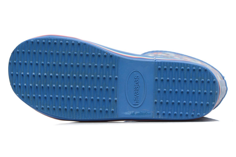 Stiefel Havaianas Aqua Kids Flores blau ansicht von oben