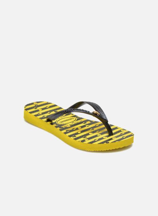 Slippers Havaianas Kids Slim Bugs Geel detail
