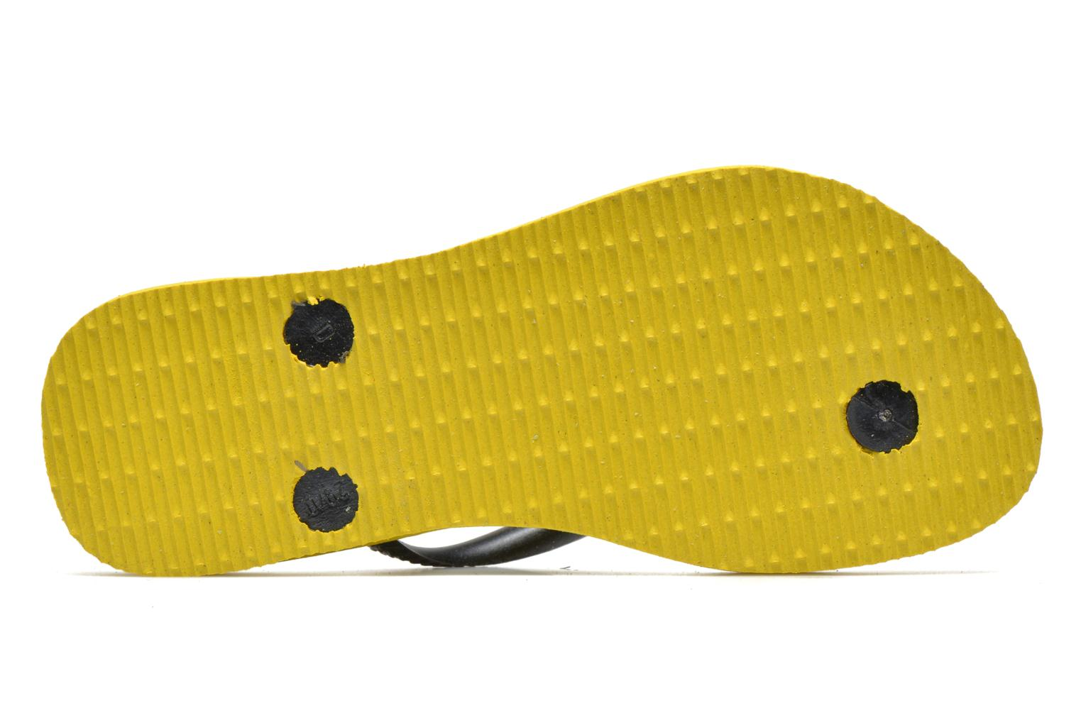 Flip flops Havaianas Kids Slim Bugs Yellow view from above
