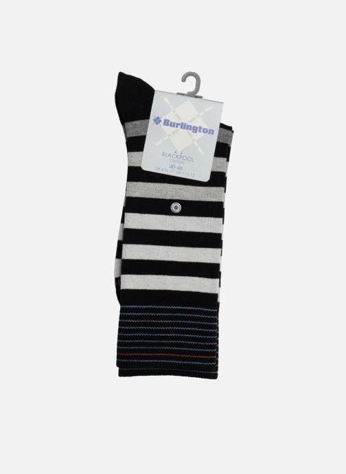 Socken & Strumpfhosen Burlington Socken RAYEES schwarz ansicht von vorne