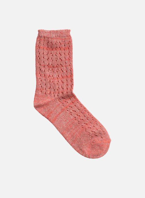 Chaussettes et collants Hop Socks Chaussettes GEOMETRY Rose vue face