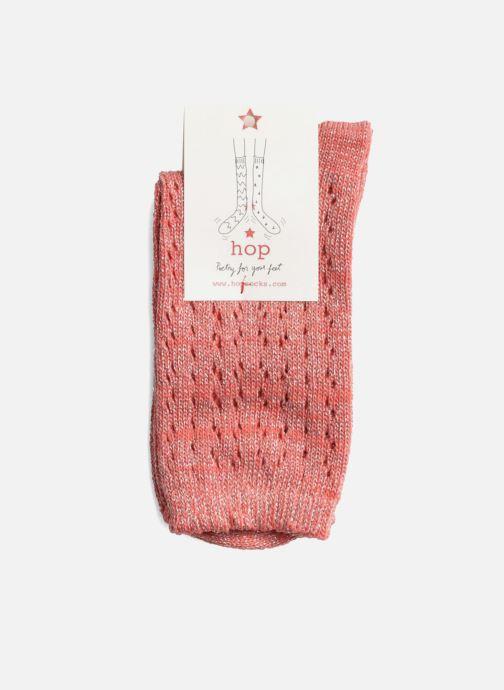 Chaussettes et collants Hop Socks Chaussettes GEOMETRY Rose vue droite