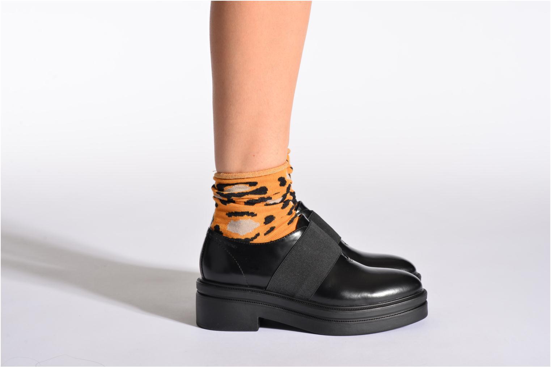 Chaussettes et collants Hop Socks Chaussettes COZY Orange vue portées chaussures