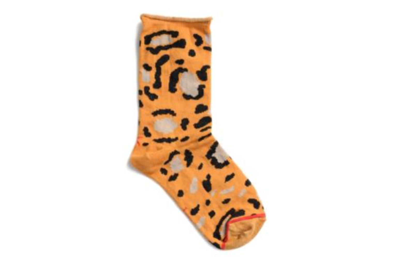 Chaussettes et collants Hop Socks Chaussettes COZY Orange vue derrière