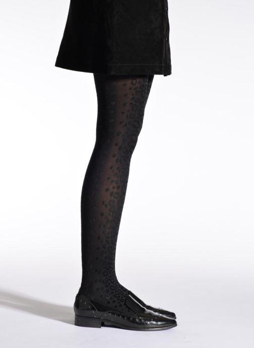 Chaussettes et collants Doré Doré Collant KATY Noir vue portées chaussures