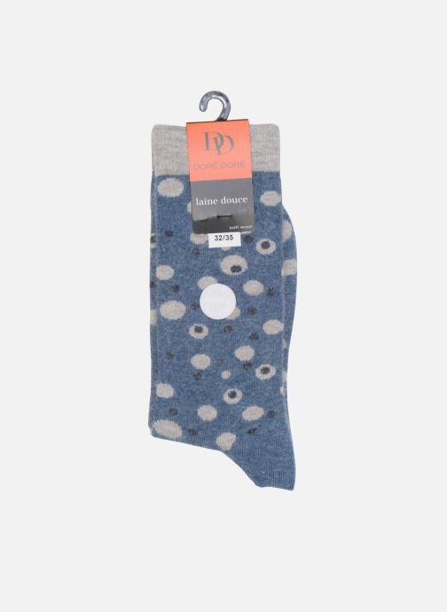 Socks & tights Doré Doré Socks POIS Blue view from the right