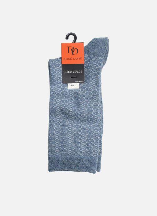 Socken & Strumpfhosen Doré Doré Socken CARESSE blau ansicht von rechts