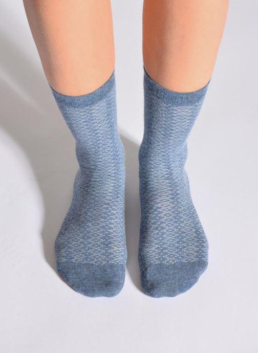 Socken & Strumpfhosen Doré Doré Socken CARESSE blau detaillierte ansicht/modell