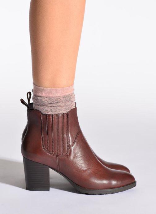 Socks & tights Doré Doré Socks CARESSE Pink model view