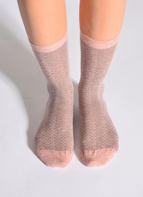 Socks & tights Doré Doré Socks CARESSE Pink detailed view/ Pair view