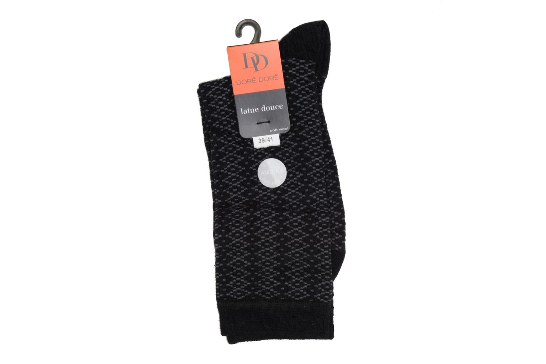 Chaussettes et collants Doré Doré Chaussettes CARESSE Noir vue droite