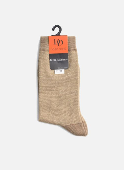 Socks & tights Doré Doré Socks GLITTER Beige view from the right