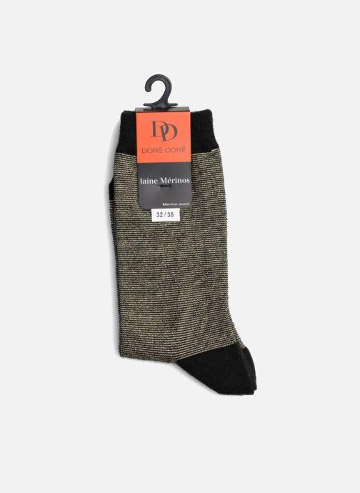 Socken & Strumpfhosen Doré Doré Socken GLITTER schwarz ansicht von rechts