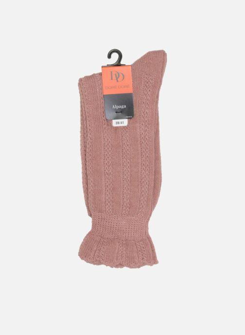 Socks & tights Doré Doré Socks ÉLÉGANCE Pink view from the right