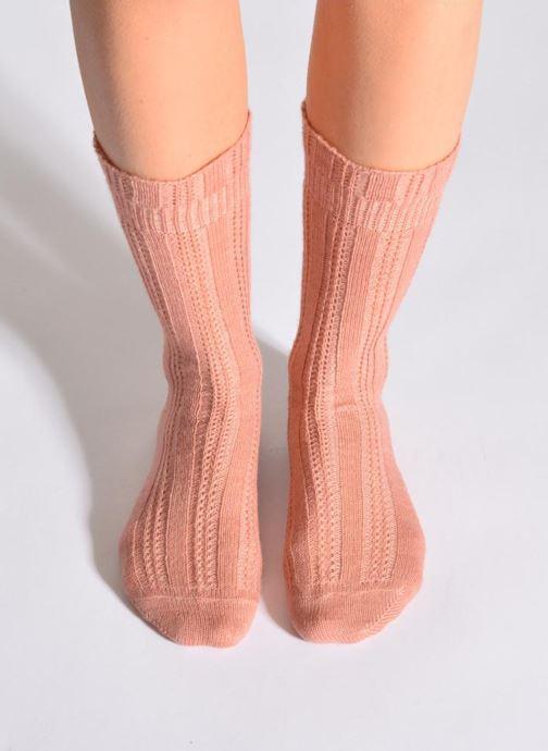 Socks & tights Doré Doré Socks ÉLÉGANCE Pink detailed view/ Pair view