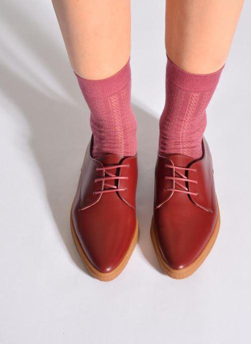 Chaussettes et collants Doré Doré Chaussettes ALLURE Rose vue portées chaussures