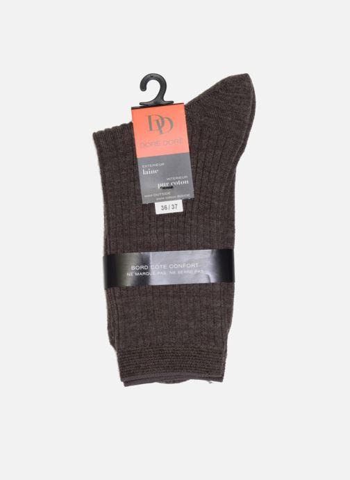 Socken & Strumpfhosen Doré Doré Socken INSÉPARABLE braun ansicht von rechts