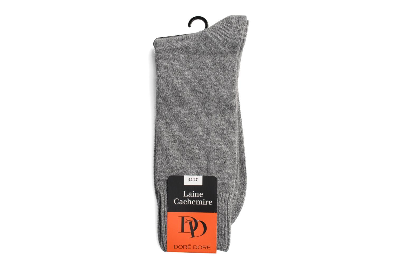 Chaussettes et collants Doré Doré Chaussettes DOUCEUR Gris vue droite