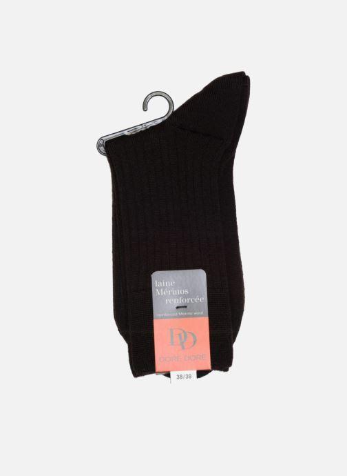 Socks & tights Doré Doré Socks INTEMPOREL Brown view from the right