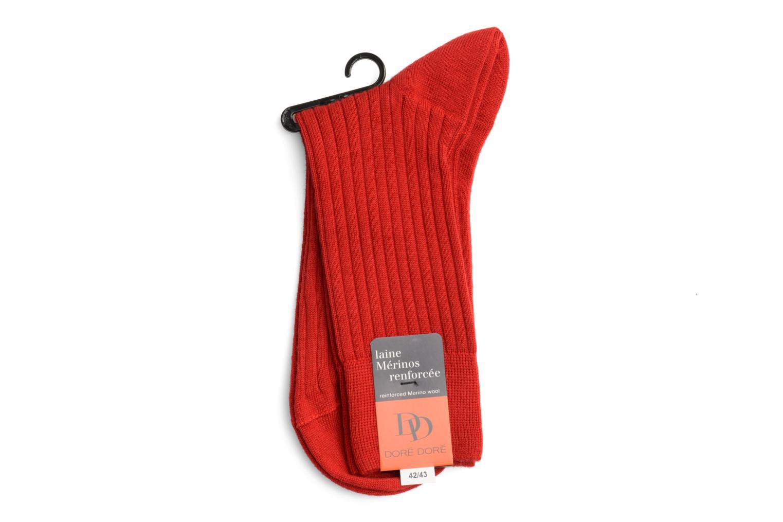Chaussettes et collants Doré Doré Chaussettes INTEMPOREL Rouge vue face