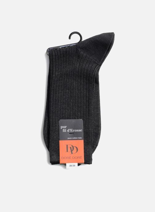 Socken & Strumpfhosen Doré Doré Socken PURETÉ grau schuhe getragen