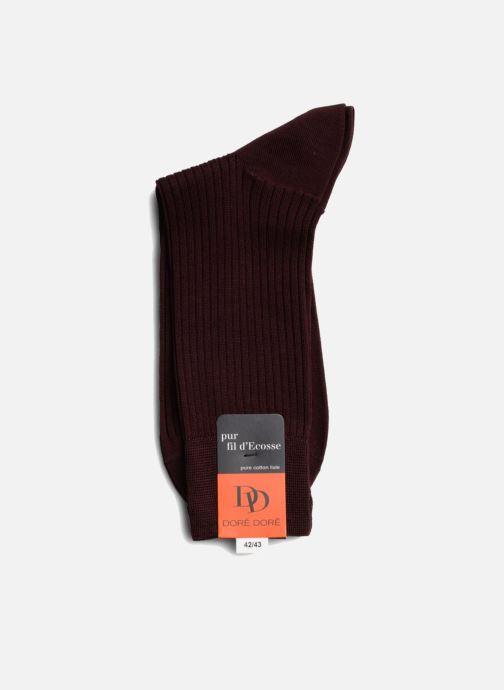 Sokken en panty's Doré Doré Sokken PURETÉ Bordeaux rechts