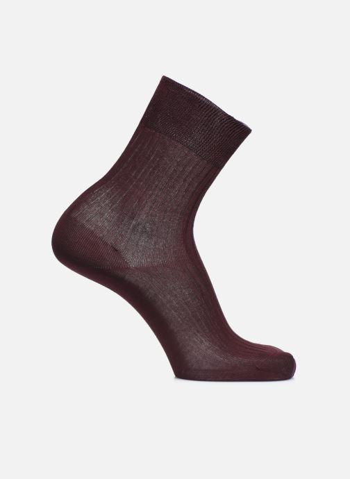 Socks & tights Doré Doré Socks PURETÉ Burgundy detailed view/ Pair view