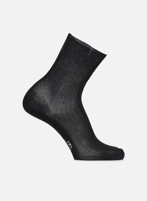 Socks & tights Doré Doré Socks PURETÉ Black detailed view/ Pair view