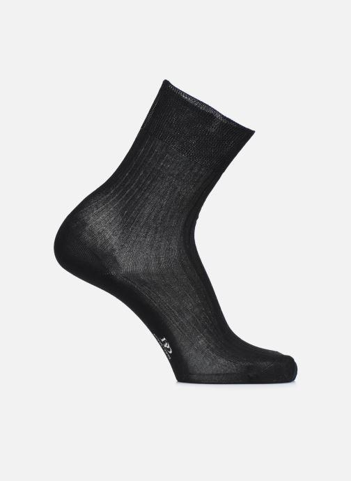 Socks & tights Doré Doré Socks PURETÉ Black detailed view/ Pair view