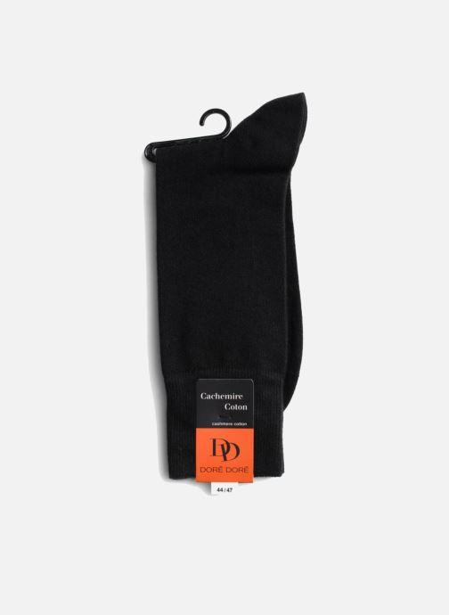 Chaussettes et collants Doré Doré Chaussettes DOUBLE DOUCE Noir vue droite