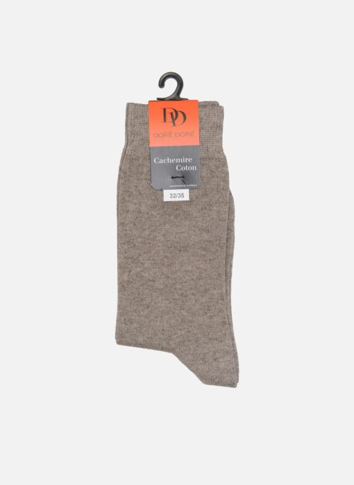 Sokken en panty's Doré Doré Sokken DOUBLE DOUCE Grijs rechts