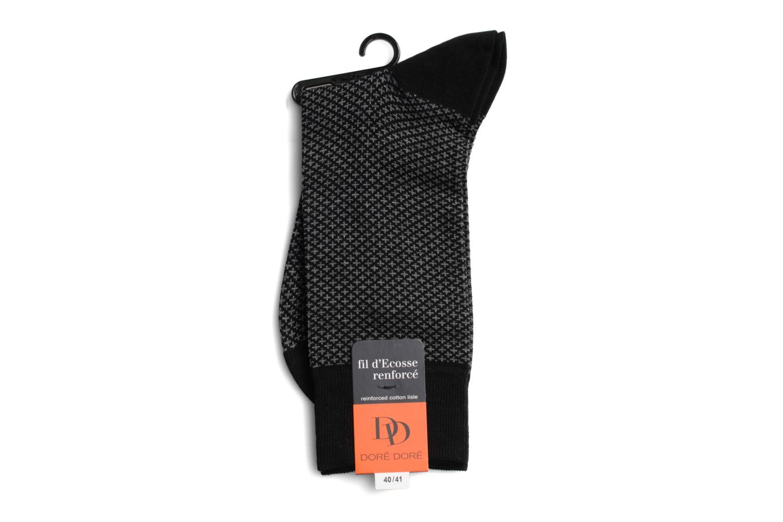 Chaussettes et collants Doré Doré Chaussettes FINESSE Noir vue droite