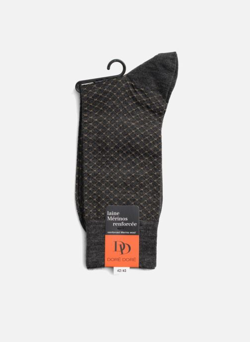 Chaussettes et collants Doré Doré Chaussettes DISTINCTION Gris vue droite