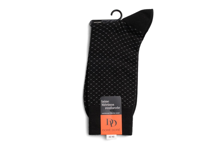 Chaussettes et collants Doré Doré Chaussettes DISTINCTION Noir vue droite