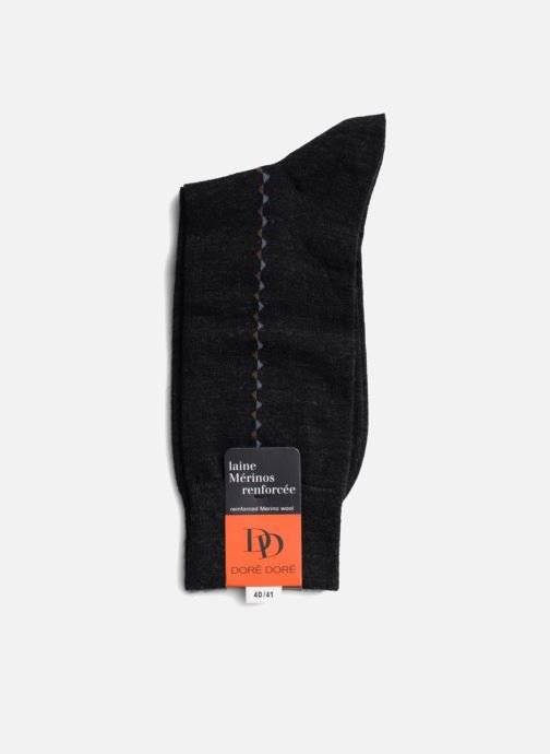 Socks & tights Doré Doré Socks BAGUETTE Grey view from the right