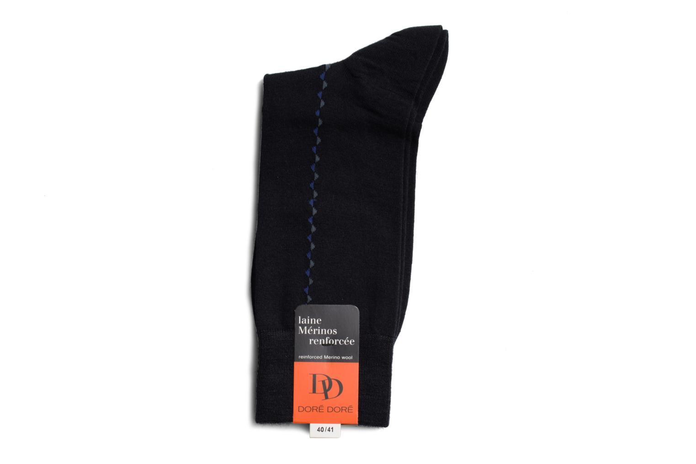 Chaussettes et collants Doré Doré Chaussettes BAGUETTE Bleu vue droite