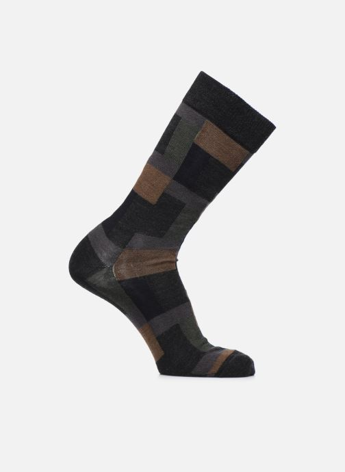Sokken en panty's Doré Doré Sokken GÉOMÉTRIE Grijs detail