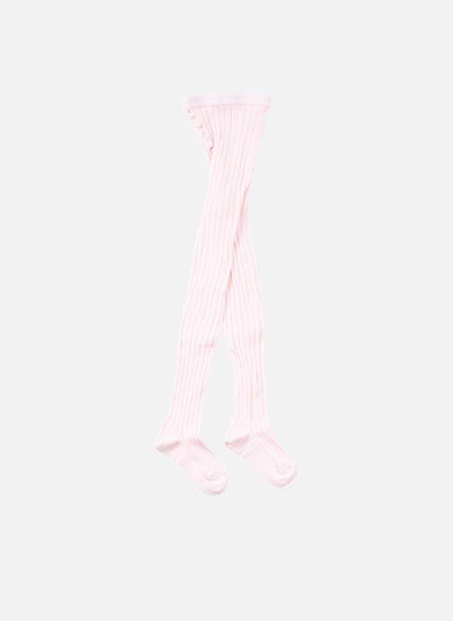 Calze e collant Doré Doré Collant COTON CÔTE Rosa modello indossato