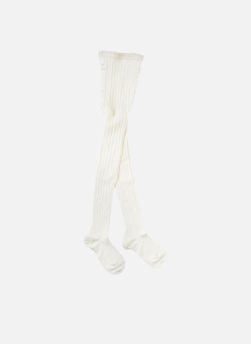 Chaussettes et collants Doré Doré Collant COTON CÔTE Beige vue portées chaussures